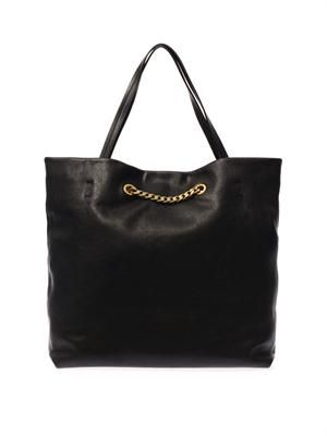 Carry Me leather tote