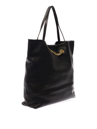Lanvin Carry Me leather tote