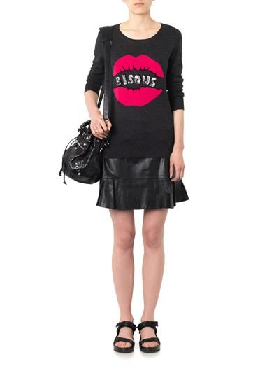 Markus Lupfer Natalie Bisous sequin-embellished sweater