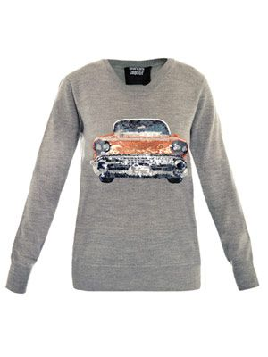 Cadillac sequin sweater