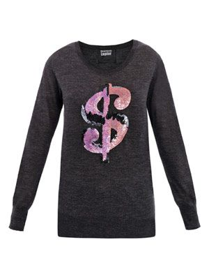 Dollar sign sweater