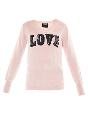 Sequin love sweater
