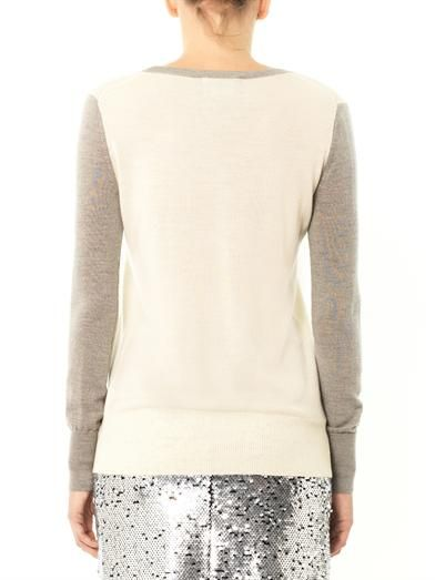 Markus Lupfer Star sequin-embellished sweater