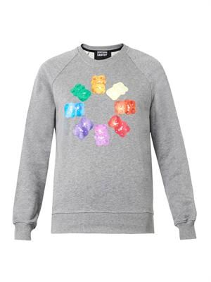 Gummy bear-print sweatshirt