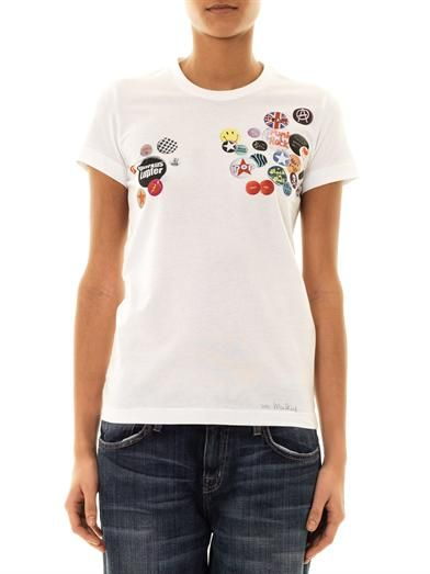 Markus Lupfer Badge-print T-shirt