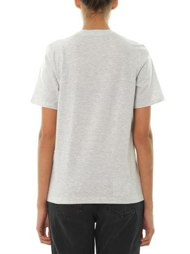 Markus Lupfer Meow embellished T-shirt