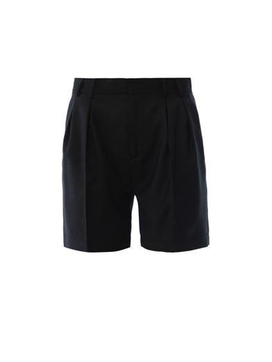 Maison Martin Margiela Mm6 Pleat front tailored shorts