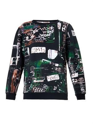 Urban Art-print sweatshirt