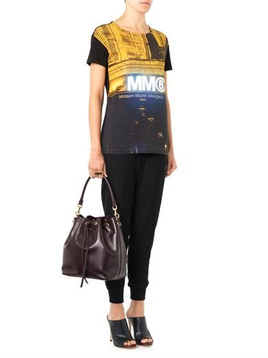 Maison Martin Margiela Mm6 Digital Store-print T-shirt