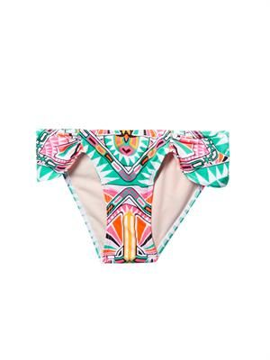 Cosmic Fountain-print bikini briefs