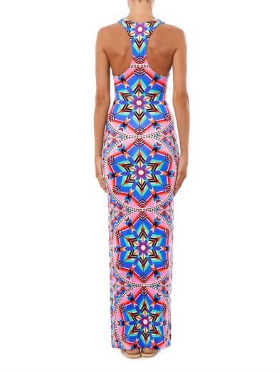 Mara Hoffman Kites-print racer-back maxi dress