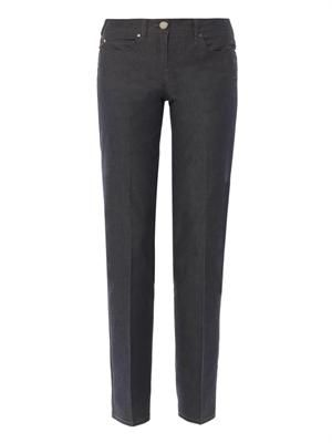 Romania high-rise tailored jeans