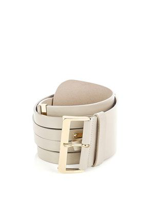 Mirna leather belt