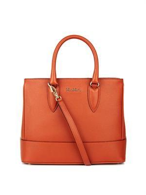 Mini Ginevra leather bag