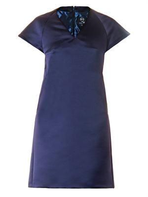 Duchess-satin dress