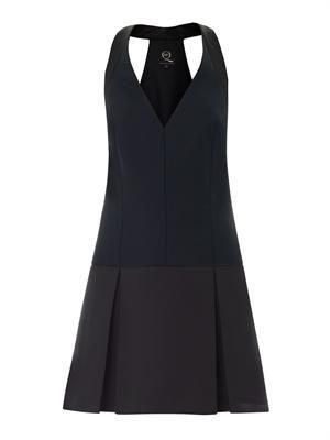 Tux-style dress