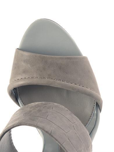 McQ Alexander McQueen Stamped-leather sandals
