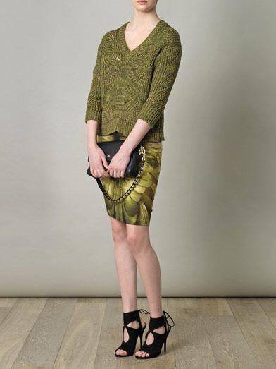 McQ Alexander McQueen Melange knit sweater
