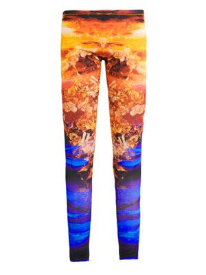Mineral print leggings