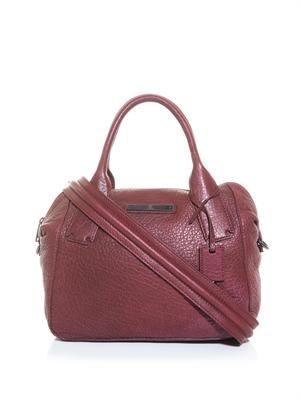 Redchurch leather bag