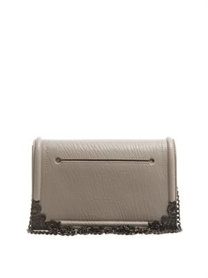 The Edge leather clutch