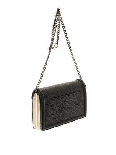 McQ Alexander McQueen Grained-leather shoulder bag