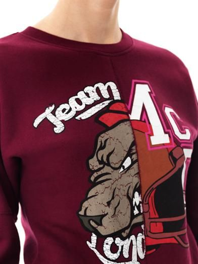 McQ Alexander McQueen Team McQ varsity sweatshirt