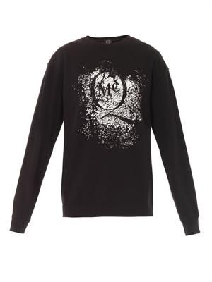 Crackle logo sweatshirt
