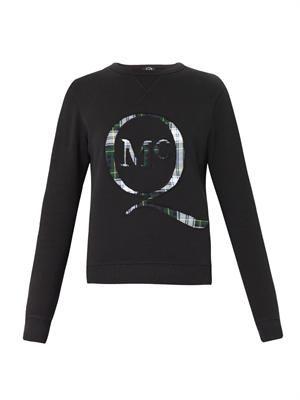 Tartan-logo sweatshirt