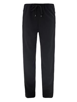 Tuxedo stripe tailored trousers
