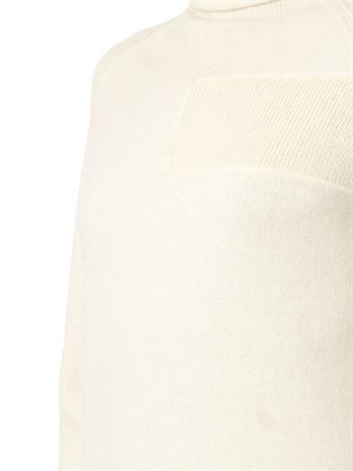 McQ Alexander McQueen Patchwork layered knit dress