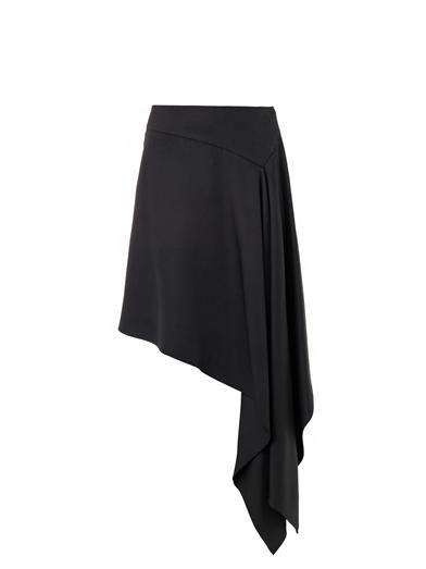McQ Alexander McQueen Waterfall-hem skirt