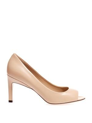 Viborg open-toe pumps