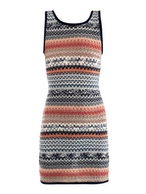 Stretch-knit mini dress