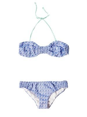 Diamatino knit bandeau bikini