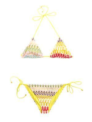 Diamatino-knit bikini