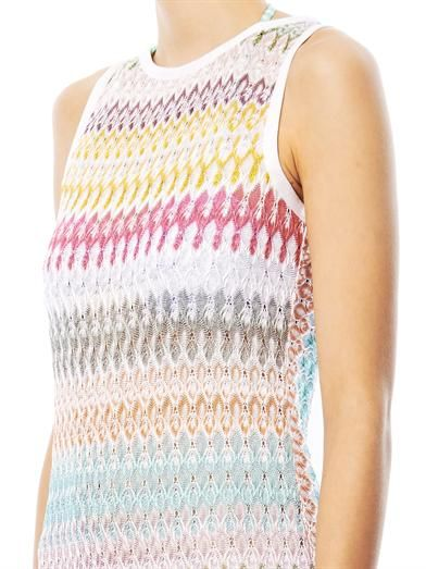 Missoni Mare Diamatino knit shift dress