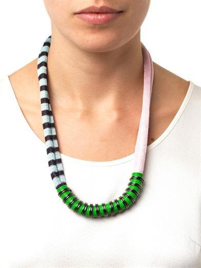 Missoni Mare Chevron necklace