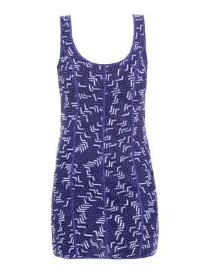Zigzag swim dress