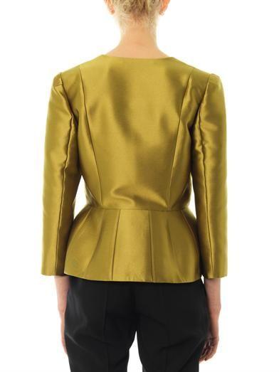 Matthew Williamson Luster tailored peplum jacket