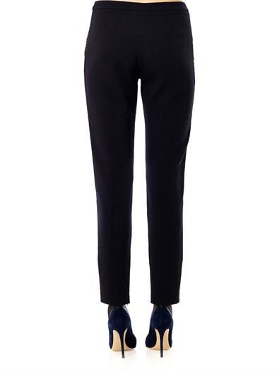 Matthew Williamson Folk jacquard tailored trousers