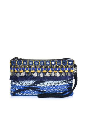 Taj tapestry clutch
