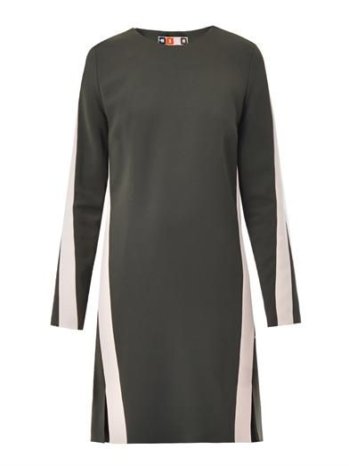 MSGM Colour-block shift dress
