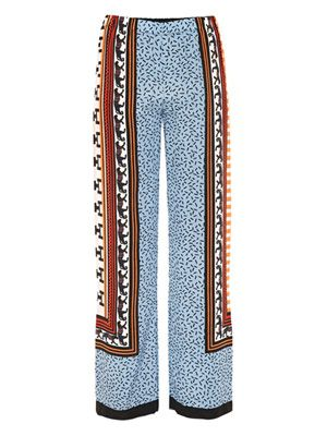 Panther-print trousers