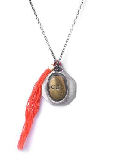 Mathias Chaize Tassel pendant necklace