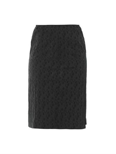 Nina Ricci Textured-jacquard pencil skirt