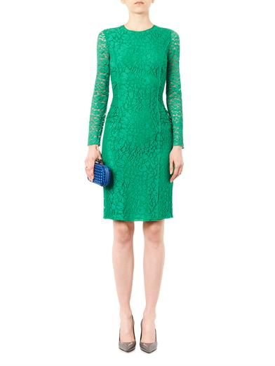 Nina Ricci Long-sleeved lace dress