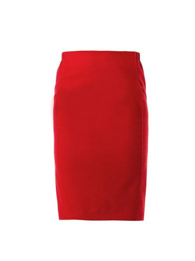 Nina Ricci Virgin wool pencil skirt