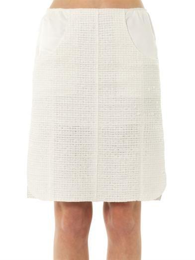 Nina Ricci Bouclé pencil skirt