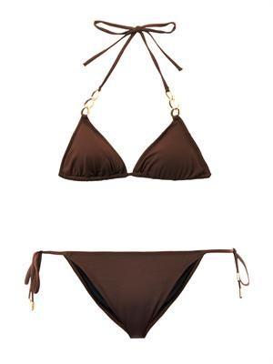 Crete triangle bikini
